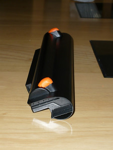 Sugru feet for the laptop battery